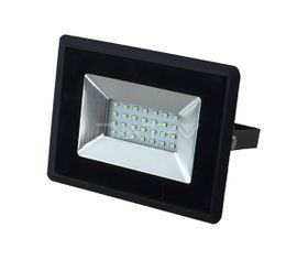 LED reflektor V-TAC 20W, 1700lm, E-SERIES, Slim, čierny