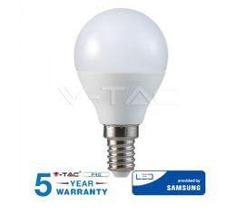 LED žiarovka E14 5,5W 470lm P45 SAMSUNG CHIP - 5 ROČNÁ ZÁRUKA!