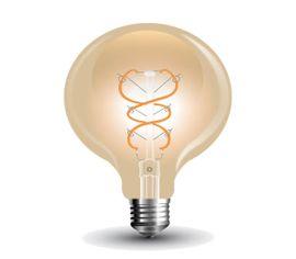 LED žiarovka E27 5W G95 Amber cover