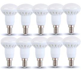LED žiarovka V-TAC E14 6W 400lm R50 - BALENIE 10 KUSOV