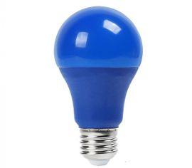 LED žiarovka V-TAC, E27, 9W, 120lm, A60 - MODRÁ