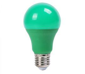LED žiarovka V-TAC E27 9W 310lm A60 - ZELENÁ