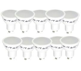 LED žiarovka V-TAC GU10 7W 500lm PAR16 - BALENIE 10 KUSOV
