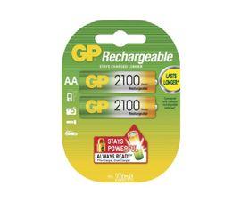 Nabíjacia batéria GP 2100 mAh, AA NiMH, 2ks/ blister