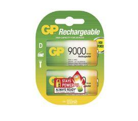 Nabíjacia batéria GP 9000 mAh D NiMH 2ks/ Blister