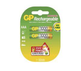 Nabíjacia batéria GP PROFESSIONAL 1000 mAh, AAA NiMH, 2ks/ blister