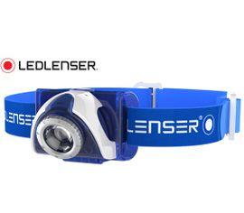 Nabíjateľná Čelovka Led Lenser SEO7R s Focus optikou Modrá