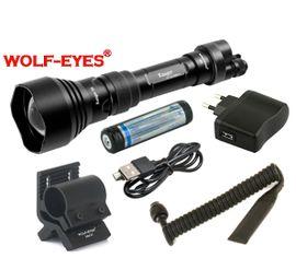Nabíjateľná LED baterka Wolf-Eyes Ranger 56 TURBO, USB v.2017 H.Full set