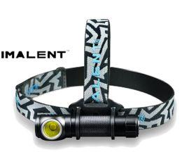 Nabíjateľná LED čelovka Imalent HR70, Praktik Set