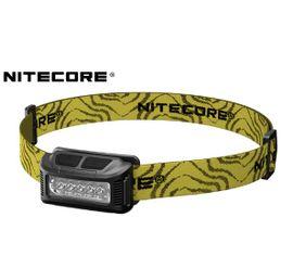 Nabíjateľná LED Čelovka Nitecore NU10, USB - čierna