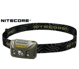 Nabíjateľná LED Čelovka Nitecore NU30, USB - Vojenská zelená