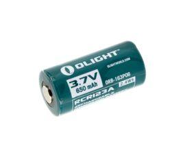 Olight RCR123A 650 mAh 3,7V chránený