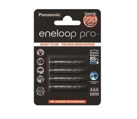 Panasonic Eneloop Pro AAA NiMH 4ks 500 cyklov nabíjania