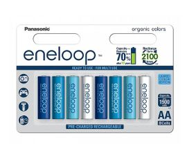 Sanyo Eneloop Tropical limited edition AA NiMH 8ks