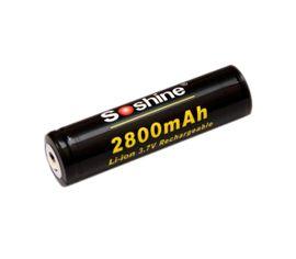 Soshine 18650 2800mAh 3.7V chránený