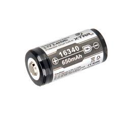 Xtar RCR123 650mAh 3,6V chránený