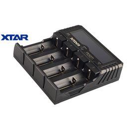 Xtar VP4 Plus DRAGON inteligentá rýchlonabíjačka, merač hodnôt akumulátora