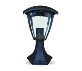 Záhradné stojanové svietidlo E27 IP65 čierne