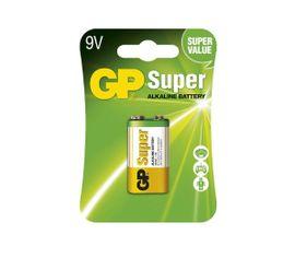 Batéria GP alkalická 9V blok, 1ks/ Blister