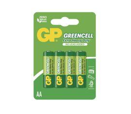 Batéria GP GREENCELL AA, 4ks/ Blister