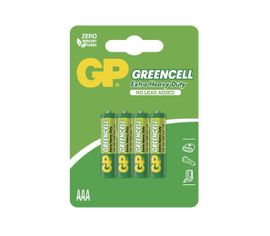 Batéria GP GREENCELL AAA, 4ks/ Blister