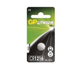 Batéria GP líthiová gombíková CR1216, 1ks/ Blister