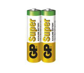 Batéria GP super alkalická AA, 2ks/ Fólia
