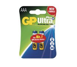 Batéria GP ultra alkalická PLUS AAA, 2ks/ Blister