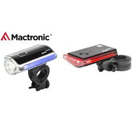 Bicyklové svietidlá MacTronic Galaxy Set