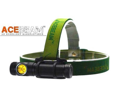 LED Čelovka Acebeam H10 čierna