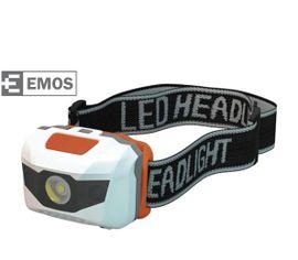 LED Čelovka EMOS na 2x AAA, 1 + 2 LED 1W