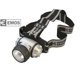 LED Čelovka EMOS na 3x AAA, 1x LED 1W