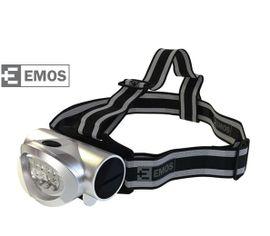 LED Čelovka EMOS na 3x AAA, 8x LED