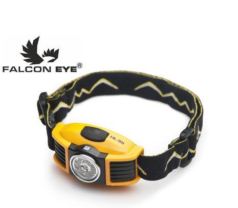Čelovka Falcon Eye 3 farby LED HL-911