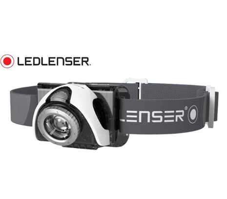 Čelovka Led Lenser SEO5 s Focus optikou - šedá