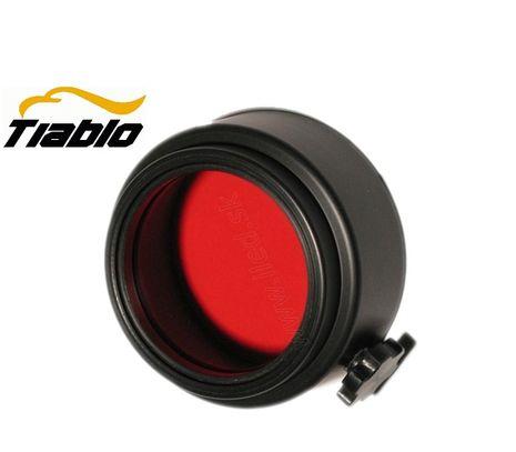 Červený filter na Tiablo A9 + Colimátor