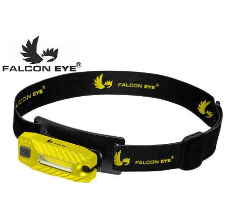 Falcon Eye Blaze 2.1 USB nabíjateľná - Žltá