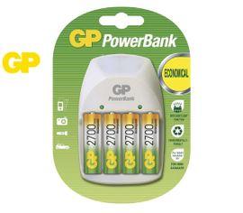 GP nabíjačka batérií PB Nite-Lite + 4 x 2700 mAh AA NiMH