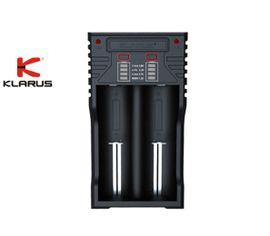Inteligentná univerzálna USB nabíjačka Klarus K2