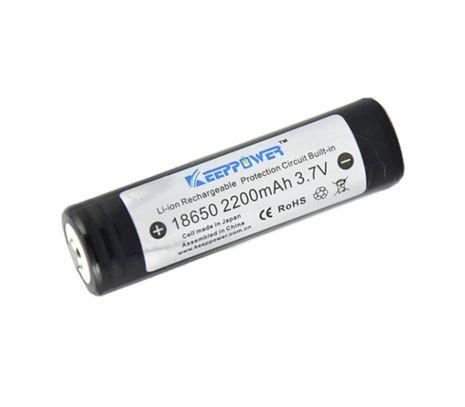 Keeppower 18650 2200mAh 3,7V chránený