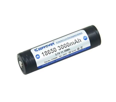 Keeppower 18650 3000mAh 3,7V chránený