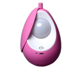 Kempingová a detská LED lampa BABY, USB nabíjateľná, Praktik Set - Ružová