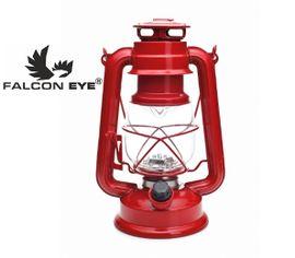 Kempingová LED lampa Falcon eye MC-15L-RETRO - Červená