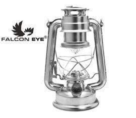 Kempingová LED lampa Falcon eye MC-15L-RETRO - Strieborná
