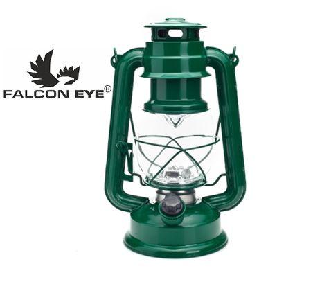 Kempingová LED lampa Falcon eye MC-15L-RETRO - Zelená