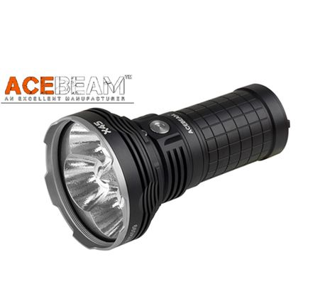 LED Baterka Acebeam X45 + 4x IMR 18650 3100 3,6V akumulátor