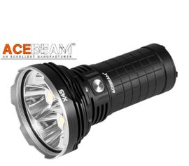 LED Baterka Acebeam X45 XHP70.2 P2 + 4x IMR 18650 3100 3,6V akumulátor