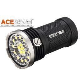 LED Baterka Acebeam X80GT + 4x Li-ion IMR 18650 3100mAh 31A 3,6V