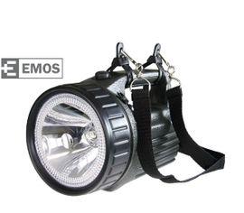 LED baterka EMOS 3810, halogén/kryptón, Nabíjateľná