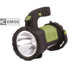 LED baterka EMOS 3W CREE+12LED, Nabíjateľná